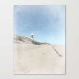 Spurn Point Lighthouse | Texture Canvas Print