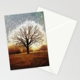 Winter Tree on Tooting Common Stationery Cards