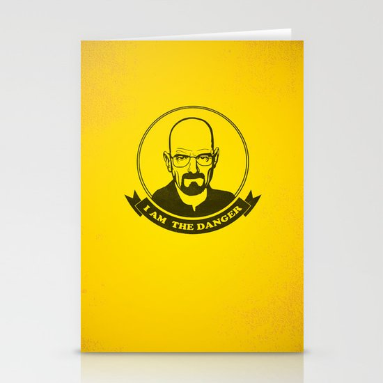 Walter White - I am the danger Stationery Cards