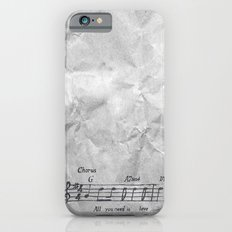 all you need is love! iPhone 6s Slim Case