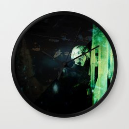 Dust, Light, and Shadows Wall Clock