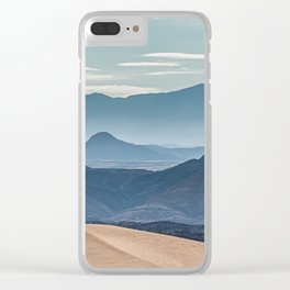 The Dunes and Mountains of Namibia Clear iPhone Case