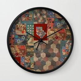 Primitive Treasure Wall Clock