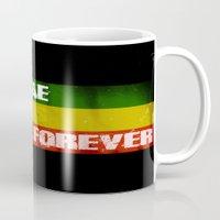 reggae Mugs featuring Reggae Is Forever II by F. C. Brooks