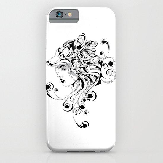 Fox Girl iPhone & iPod Case