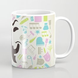 Art mask Coffee Mug