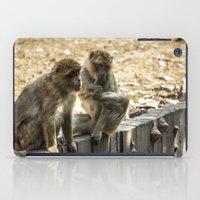 arctic monkeys iPad Cases featuring Monkeys by Veronika