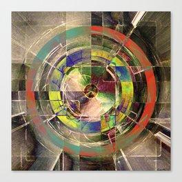 - mechanical sun - Canvas Print