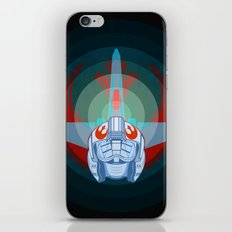 Red leader standing by iPhone & iPod Skin