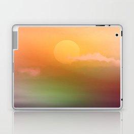 Sunrise  and sky. Laptop & iPad Skin