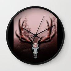 C-2 Horns Wall Clock