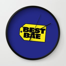 Best Bae Wall Clock