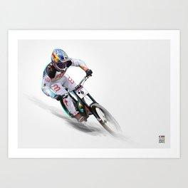 Loic Bruni II Art Print