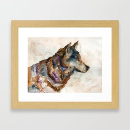 WOLF#1 Framed Art Print