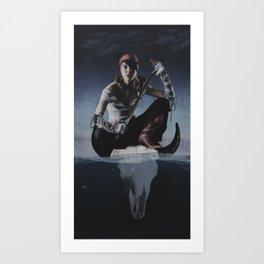 Avast Ye Pirate Art Print
