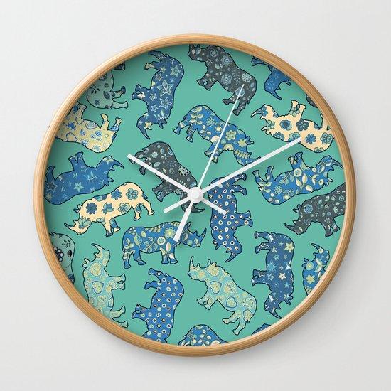 Rhino Patchwork Pattern
