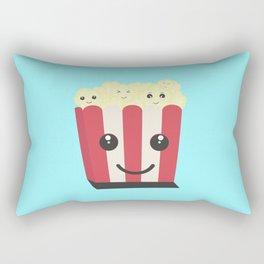 Popcorn kawaii box Rectangular Pillow