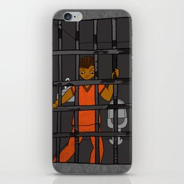 Anxiety: Trapped in a Cell iPhone Skin