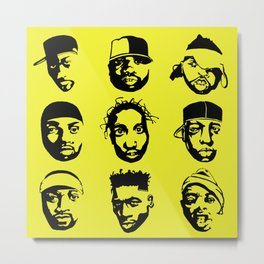 The Almighty Wu Metal Print