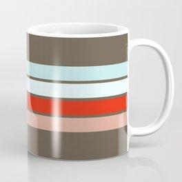 Colored Retro Stripes 02 Coffee Mug