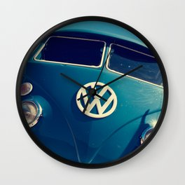 VW Throwback Wall Clock