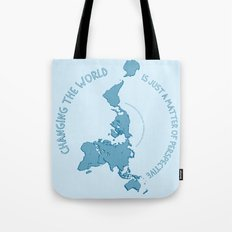 Dymaxion Perspective Tote Bag