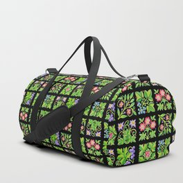 Tudor Flower Parterre Duffle Bag