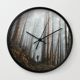 The Bewitching Woods Wall Clock