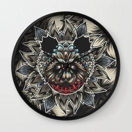 Panda Color Wall Clock