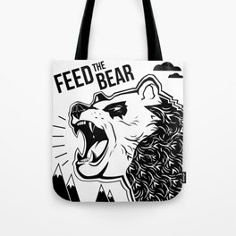 Bears and Mountains Tote Bag