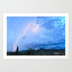 Touch and Go Art Print