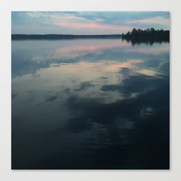 Sunrise Water Canvas Print