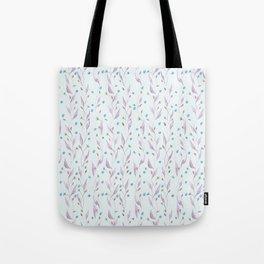 Floral Pattern of Wildflowers Tote Bag