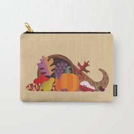 Fall Autumn Cornucopia Carry-All Pouch