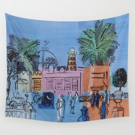 Raoul Dufy Le Casino Wall Tapestry