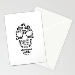 Kitten Skull Stationery Cards
