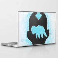 airbender Laptop & iPad Skins featuring The Last Airbender by Carmen McCormick