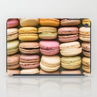 macaron iPad Cases featuring Macarons I by SouvenirPhotography