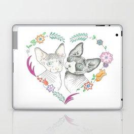 Love Cats Laptop & iPad Skin