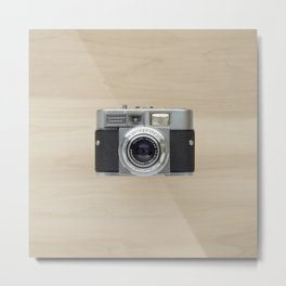 voigtlander vitomatic II - vintage camera  Metal Print