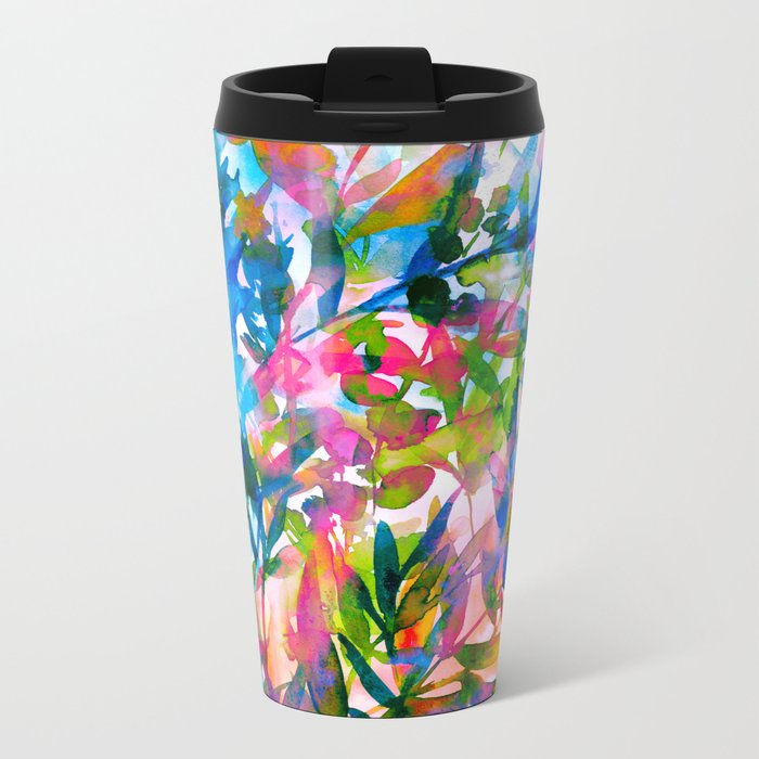 Tropic Dream Metal Travel Mug