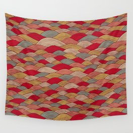 Colorful river Wall Tapestry