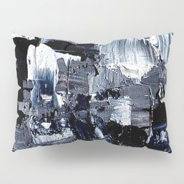 50 Shades... - black & white abstract painting Pillow Sham