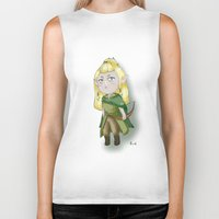 legolas Biker Tanks featuring Chibi Legolas by Miss No!