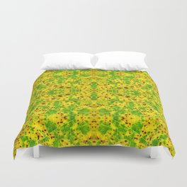 Macro Leaf no 7 Duvet Cover