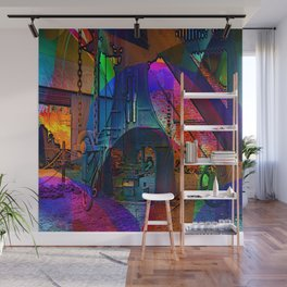 Forged in Colour Wall Mural