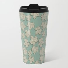 Vintage Leaves Travel Mug