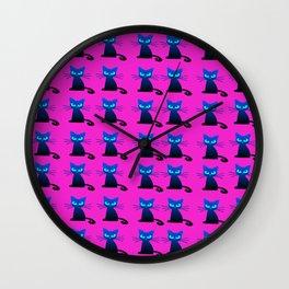1001 Little I hate Mondays Cats Wall Clock