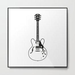 Gibson ES335 Metal Print