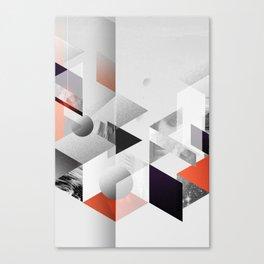 geometric woman II Canvas Print